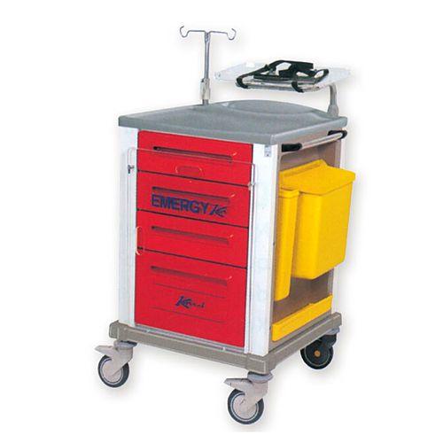 carrellino carrello emergenza - AE Technology - fornitura ed assistenza su apparecchiature medicali